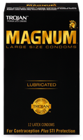 Trojan MAGNUM™ Large Lubricated Condoms