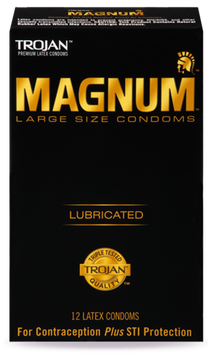 Trojan MAGNUM™ Large Lubricated Condoms