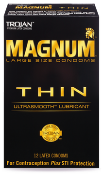 TROJAN™ MAGNUM™ Thin Lubricated Condoms