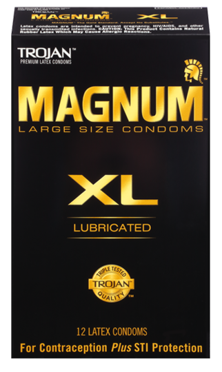 TROJAN™ MAGNUM™ XL Lubricated Condoms