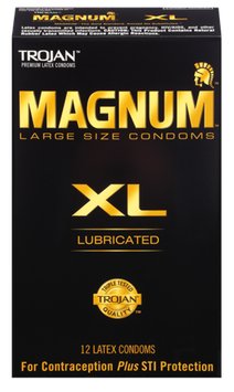 TROJAN™ MAGNUM™ XL Lubricated Condoms