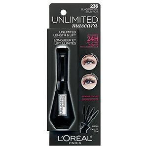 L'Oréal Paris Unlimited Lash Lifting and Lengthening Washable Mascara