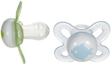 MAM Start Silicone - Boy - Newborn - 2 Pk - 1 ct.