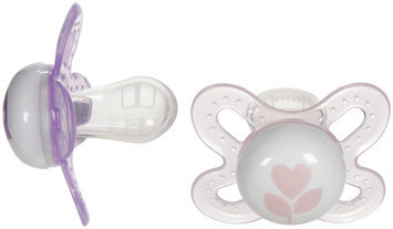 MAM Start Silicone - Girl - Newborn - 2 Pk