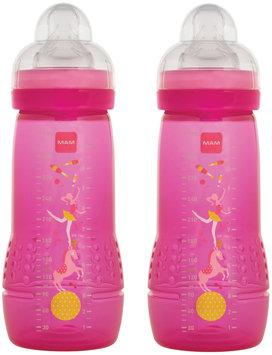 MAM BABY Bottle - 11 oz - Girl - 2 Pk - 2 ct.