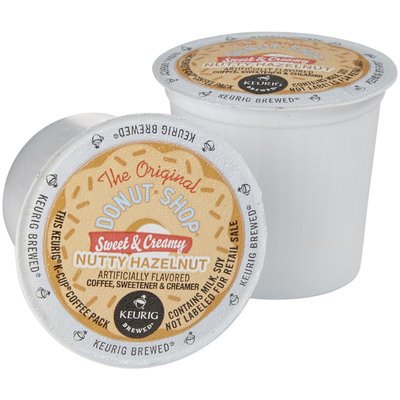 Keurig K-Cup Pod The Original Donut Shop Sweet & Creamy Nutty Hazelnut Iced Coffee - 16-pk.