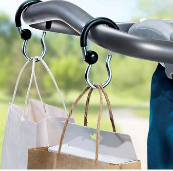 Munchkin Stroller Swivel Hooks - 2 pk Black