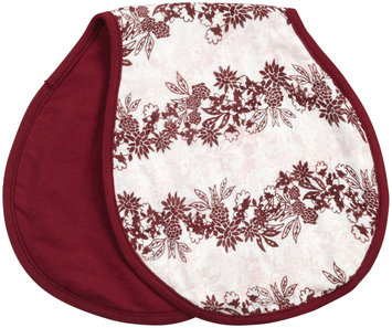 Munchkin Swaddle Angel Lap and Burp Cloth - Girl, Morning Floral Print