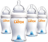 Munchkin LATCH Bottle - 8 oz - 4 pk