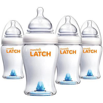 Munchkin LATCH Bottle - 8 oz - 4 pk