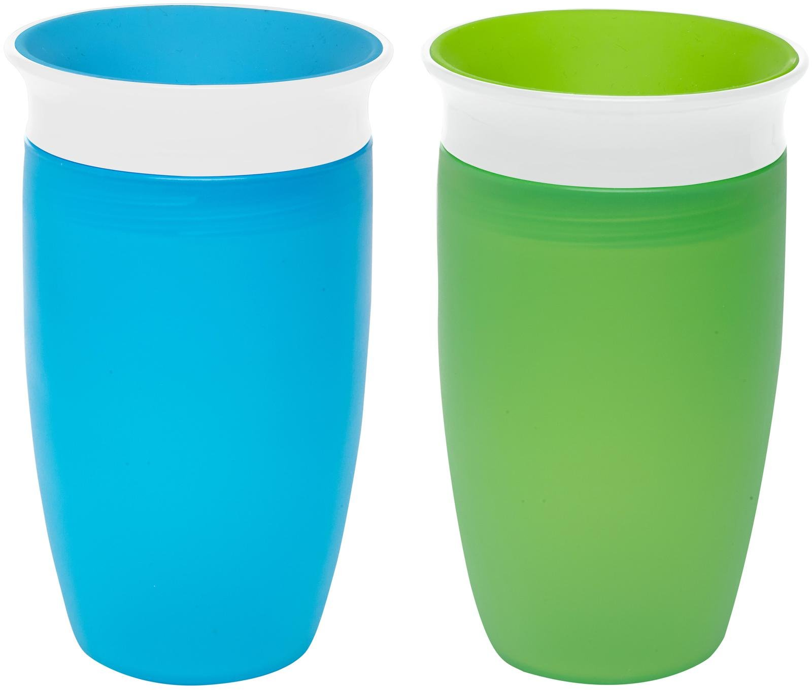 Munchkin Miracle 360 Sippy Cup - Green/Blue - 10 oz - 1 ct.