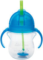 Munchkin Click Lock Weighted Flexi Straw Trainer Cup - Blue - 7 oz - 1 ct.
