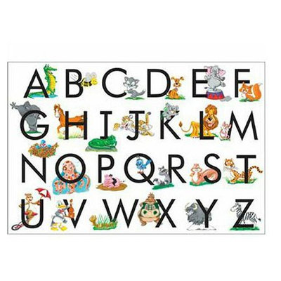 Melissa & Doug ABC Floor Puzzle (24 pcs)