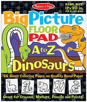 Melissa & Doug Big Picture Floor Pad A to Z Dinosaurs
