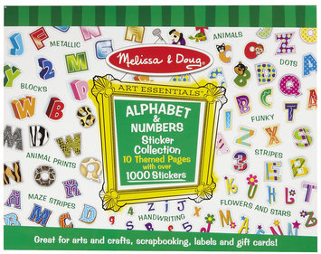 Melissa & Doug Sticker Collection - Alphabet & Numbers