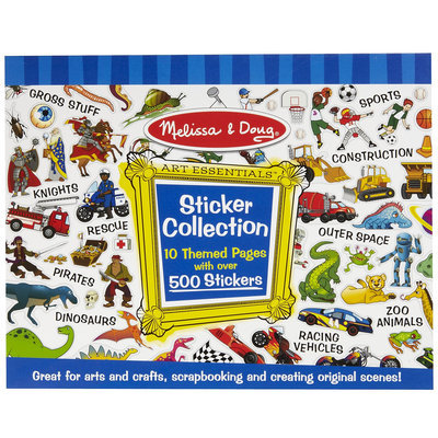 Melissa & Doug LCI4246 Sticker Collection Blue