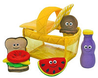 Melissa & Doug - Picnic Basket Fill and Spill (Children's) - Multicolor
