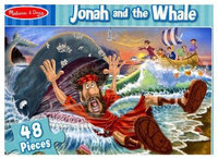 Melissa & Doug 116462 Puzzle Jonah And The Whale