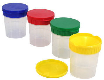 Melissa & Doug Spill Proof Paint Cups - Set of 4