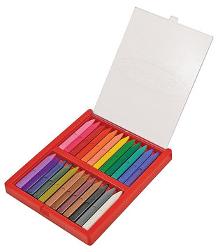 Melissa & Doug Triangular Crayon Set (24 pc)