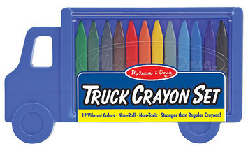 Melissa & Doug Truck Crayon Set - 1 ct.