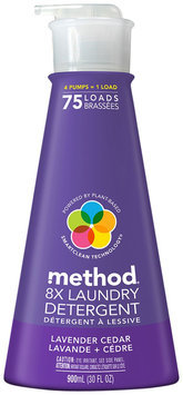method lavender cedar liquid laundry detergent