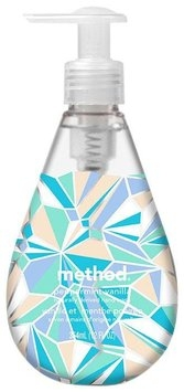 Method Christmas Gel Hand Wash Peppermint Vanilla