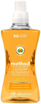 Method Laundry Detergent 66 Loads Ginger Mango 53.5 fl oz