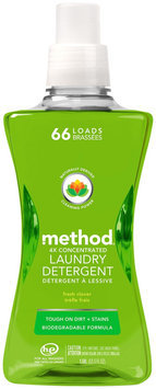 Method Laundry Detergent 66 Loads Fresh Clover 53.5 fl oz
