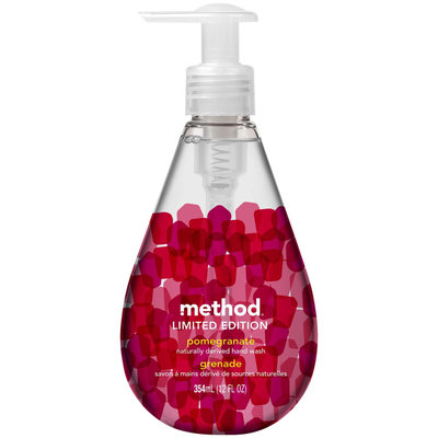 method gel hand wash pomegranate