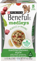 Beneful Wet Dog Food Mediterranean Style Medleys With Lamb Tomatoes Brown Rice And Spinach