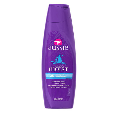 Aussie Mega Moist 2-in-1 Shampoo + Conditioner