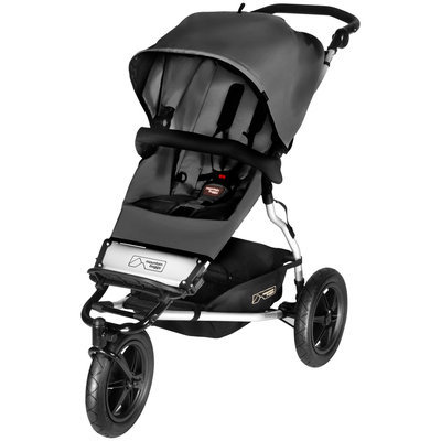 Mountain Buggy Evolution Urban Jungle Stroller in Flint