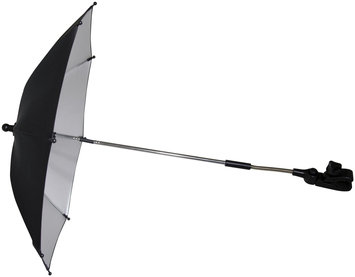 Mountain Buggy Parasol Umbrella In Black With Silver Lining