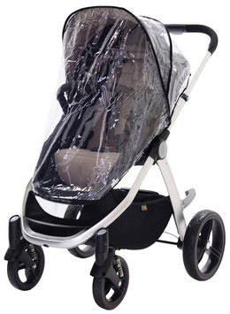 Mountain Buggy Single Storm Cover for Duet Stroller