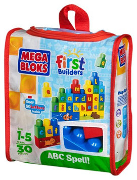 Mega Brands Mega Bloks First Builders Build and Learn - ABC Spell