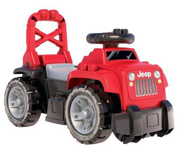 Rgc Redmond Mega Blocks - 3 in 1 Red Ride-ON