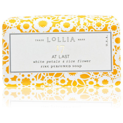 Lollia At Last Boxed Soap