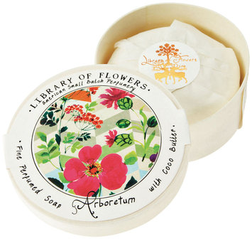Library of Flowers Soap, Arboretum