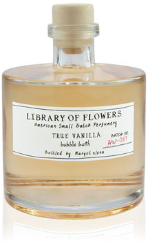 Library of Flowers Bubble Bath, True Vanilla