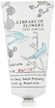 Library of Flowers Handcreme, True Vanilla