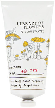 Library of Flowers Handcreme, Willow & Water
