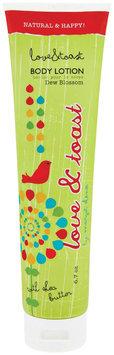 Love & Toast Body Lotion Dew Blossom, Tube
