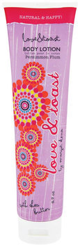 Love & Toast Body Lotion Persimmon Plum, Tube