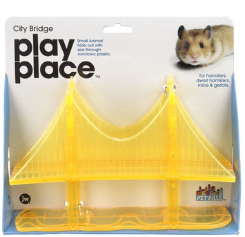 Jw Pet Company JW Pet Play Place City Bridge Animal Toy - Small