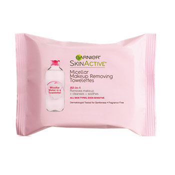 Garnier SkinActive All-in-1 Micellar Makeup Removing Towelettes
