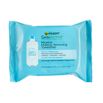 Garnier SkinActive Waterproof Micellar Makeup Removing Towelettes