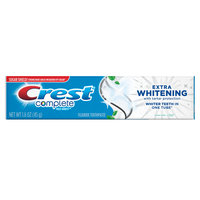Crest Complete Extra Whitening Toothpaste with Tartar Protection
