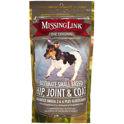 Missing Link Small Dog Hip Joint Coat Supplement