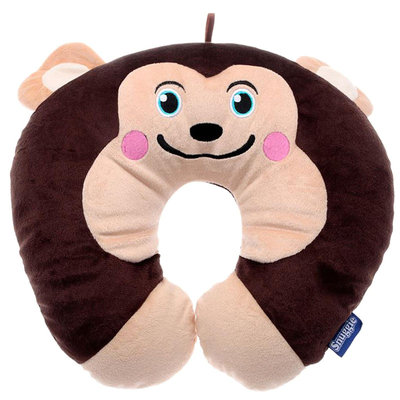 Snuggie Travel Pillow - Monkey - 1 ct.